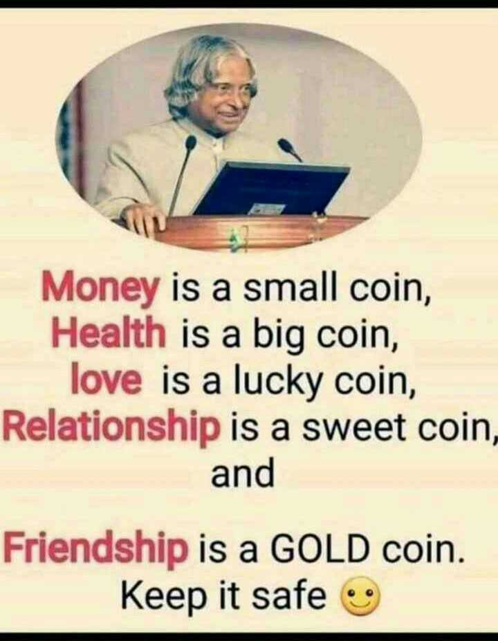 Did you know❓ - Money is a small coin , Health is a big coin , love is a lucky coin , Relationship is a sweet coin , and Friendship is a GOLD coin . Keep it safe - ShareChat