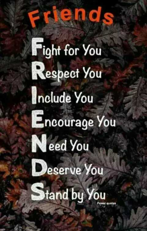 Did you know❓ - CE Friends Fight for you Respect You Include You Encourage You Need You Deserve You Stand by You Power quotes - ShareChat