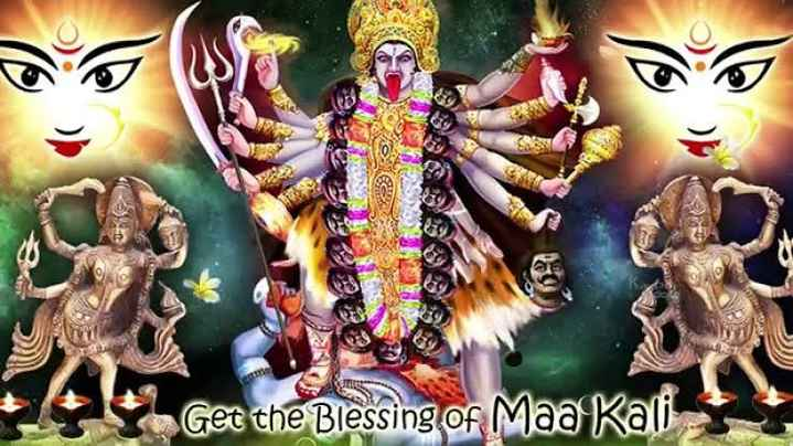 🎶 Dubsmash Challenge - Get the Blessing of Maa Kali - ShareChat
