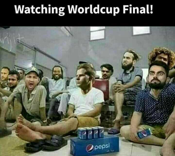 🏆 ENG vs NZ - Watching Worldcup Final ! pepsi - ShareChat