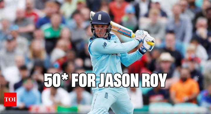 🏏 ENG vs NZ - Dew to Gilance 50 * FOR JASON ROY TOI - ShareChat
