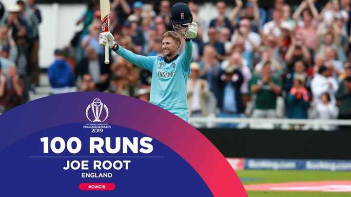 🏏ENG vs WI - Da ENGIANT KEONORY WORLD CUP ENGLAND & WALES 2019 100 RUNS JOE ROOT ENGLAND # CWC19 - ShareChat