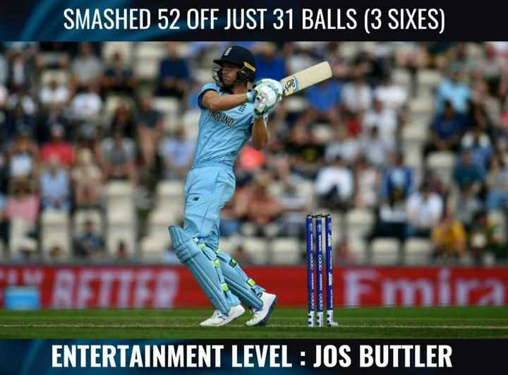 Fact.... - SMASHED 52 OFF JUST 31 BALLS ( 3 SIXES ) ENGLAND OOO NESAN OPPO ASEAN T Fmira ENTERTAINMENT LEVEL : JOS BUTTLER - ShareChat