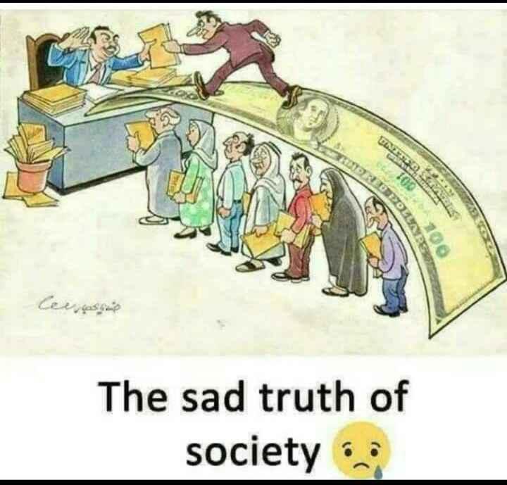 Fact.... - SMORDPOLES UNER SA 100 Ceeasi The sad truth of society - ShareChat