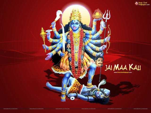 GIF's - Hindu God Walpaper . com e YES HAR cila JAI MAA KAL www . Hinduced Wallpaper . com - ShareChat