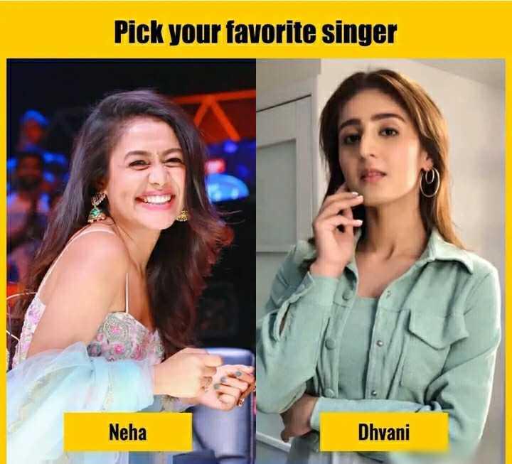 👧Girls status - Pick your favorite singer Neha Dhyani - ShareChat