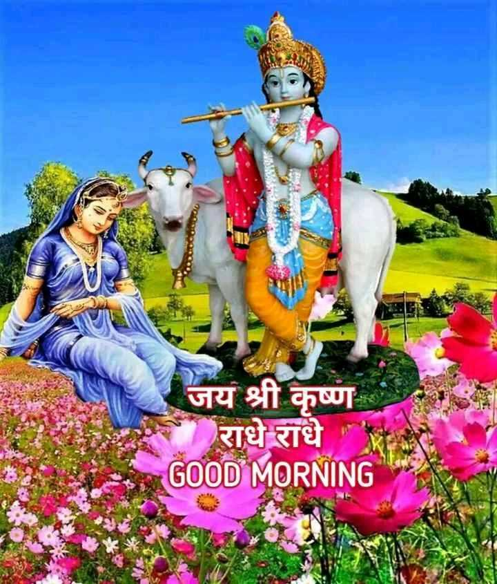 🌞 Good Morning🌞 - जय श्री कृष्ण राधे राधे GOOD MORNING - ShareChat