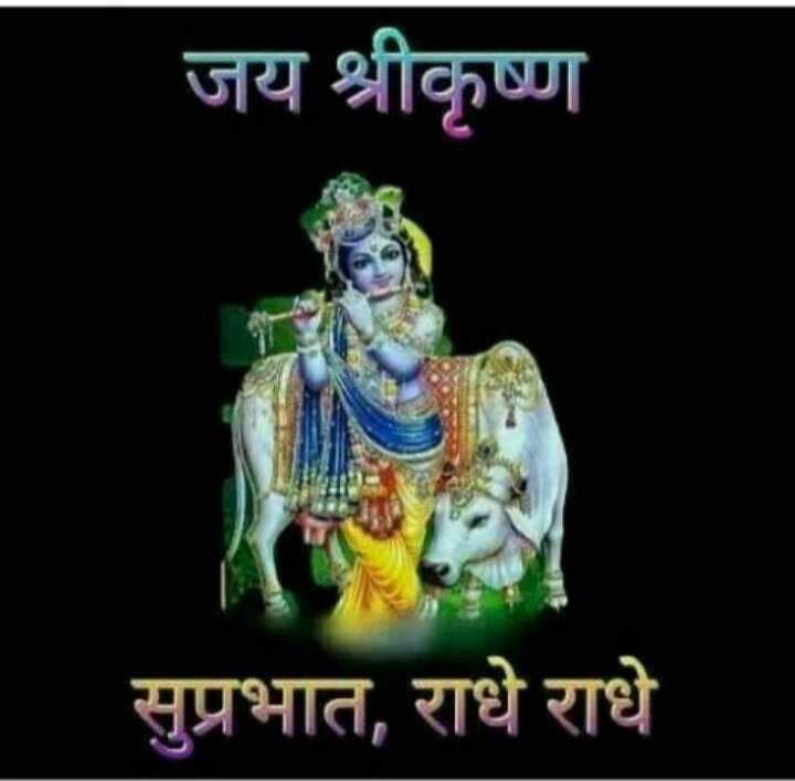 🌅 Good Morning - जय श्रीकृष्ण सुप्रभात , राधे राधे - ShareChat