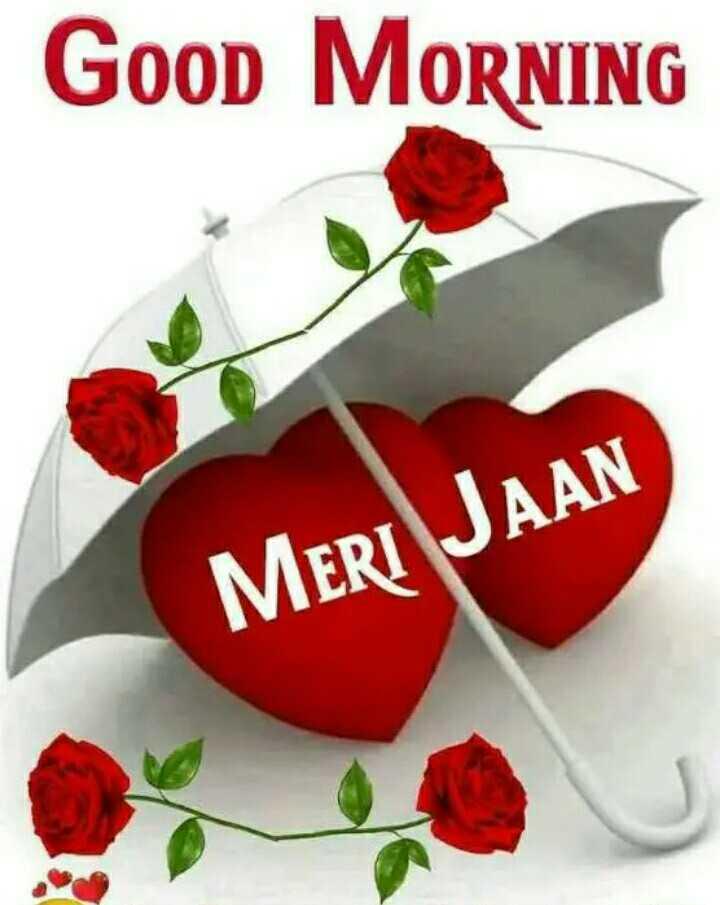🌞 Good Morning🌞 - Good MORNING MERI JAAN - ShareChat