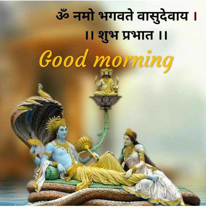 🌞 Good Morning🌞 - ॐ नमो भगवते वासुदेवाय । । । शुभ प्रभात । । Good morning - ShareChat
