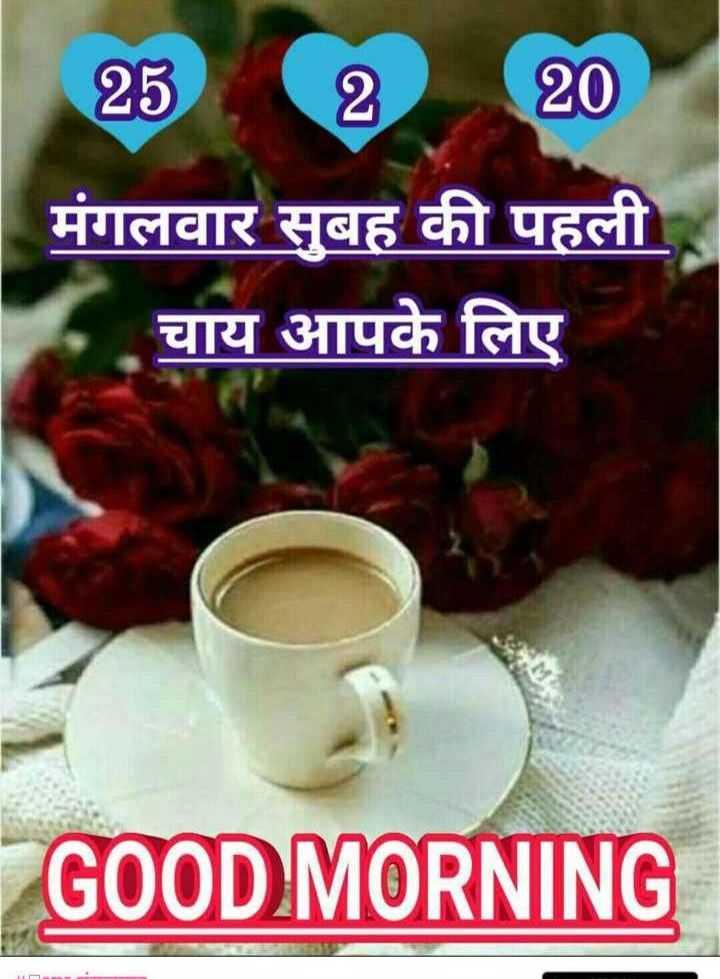🌞 Good Morning🌞 - 25220 | मंगलवार सुबह की पहली चाय आपके लिए GOOD MORNING - ShareChat