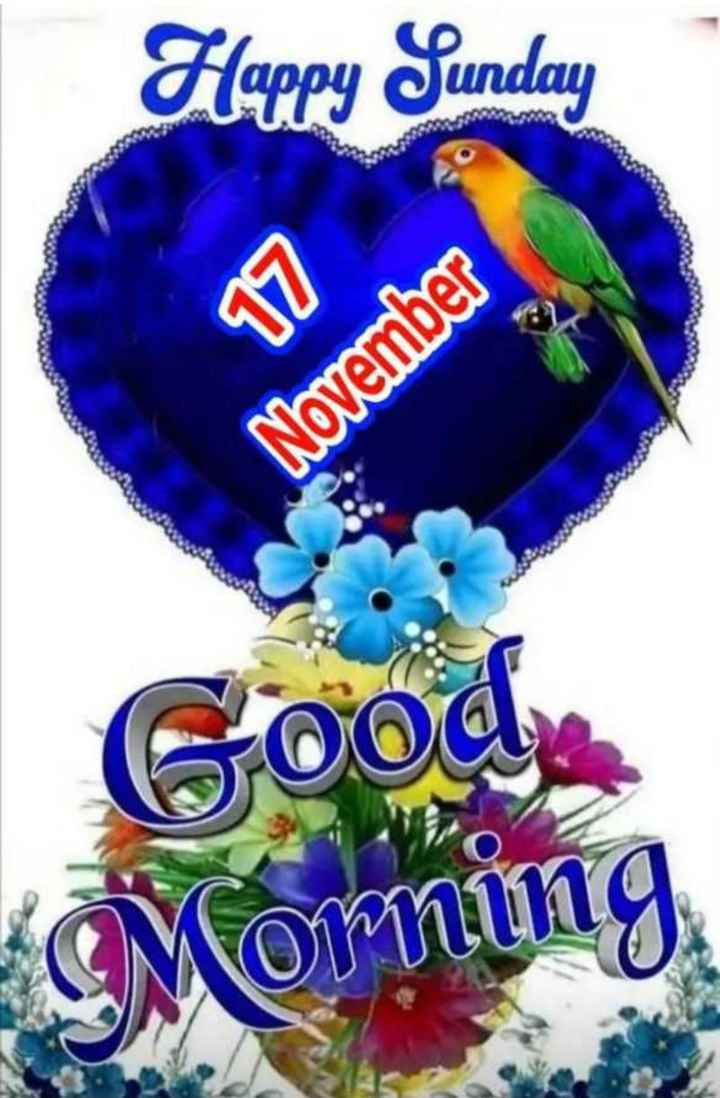 🌞 Good Morning🌞 - Happy Sunday 17 November Goode Morning - ShareChat