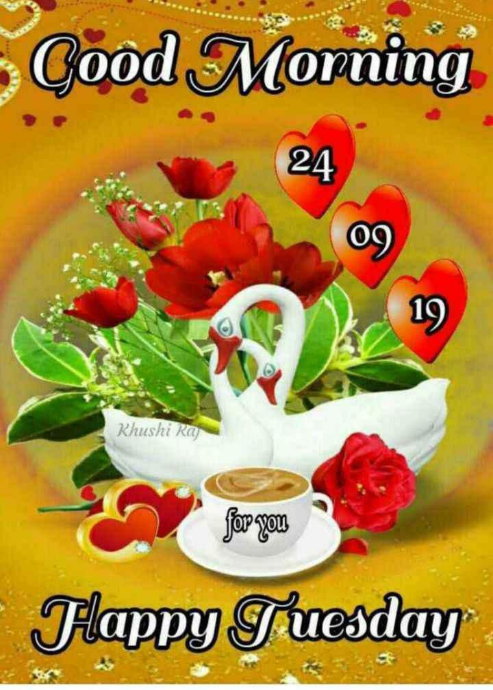 🌞 Good Morning🌞 - Cood Morning 24 09 Khushi Ra ზო - უფ Flappy Tuesday - ShareChat