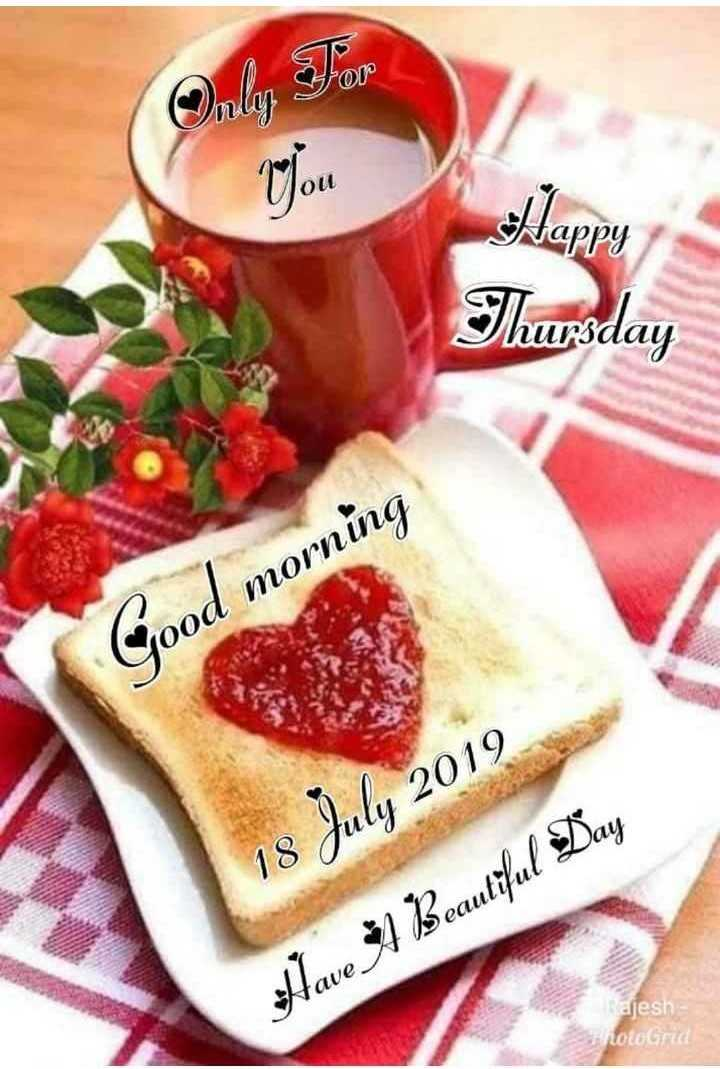 🌞Good Morning🌞 - Only For Nou Thursday Good morning 18 July 2019 Have A Beautiful Day Rajesh notoru - ShareChat