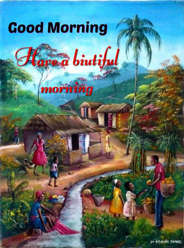 🌞 Good Morning🌞 - Good Morning morning 2 I 3 CLAUI BATIK - ShareChat