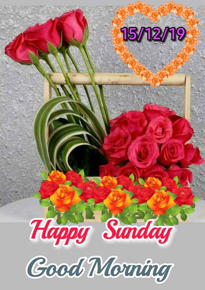 🌞 Good Morning🌞 - 15 / 12 / 19 Happy Sunday Good Morning - ShareChat