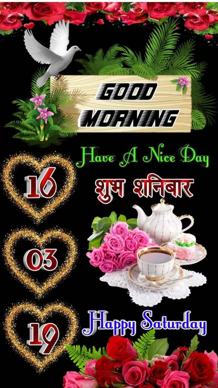 🌞Good Morning🌞 - GODD 3 MOANING Have A Nice Day TNT VIRGIR 110 03 TO Juan Jikappy Saturday - ShareChat