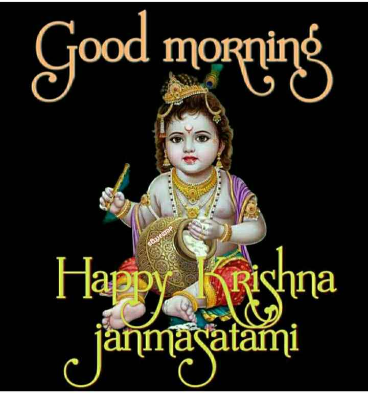 🌞Good Morning🌞 - Good morning Happy Krishna janmagatami - ShareChat