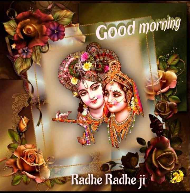 🌞 Good Morning🌞 - Good morning Radhe Radhe ji - ShareChat