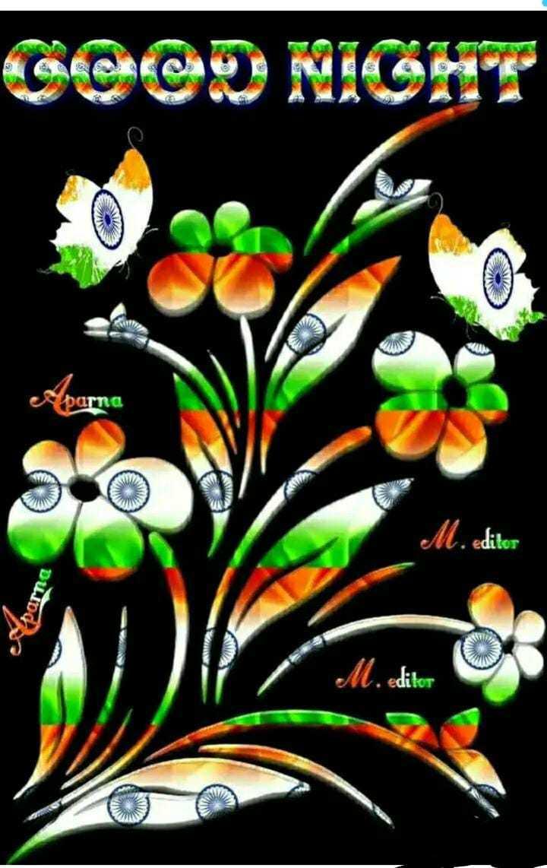 Good night - GeCO NIGHT parna FW M . editor Aparna M . editor - ShareChat