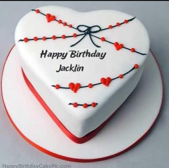 🍫 HBD: જેક્લીન ફર્નાન્ડીઝ - Happy Birthday Jacklin Happy Birthday CakePic . com - ShareChat
