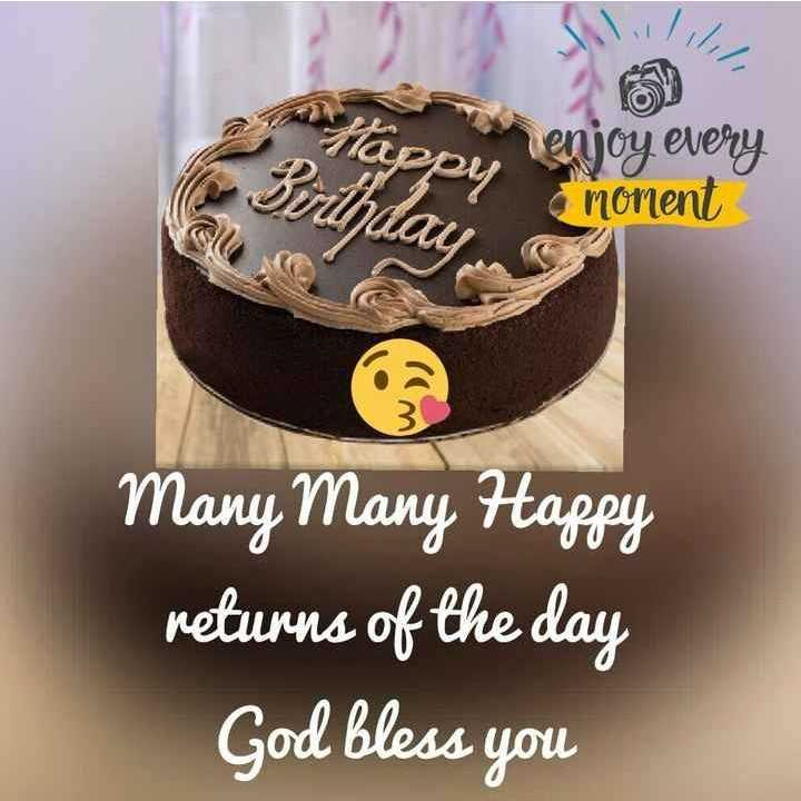 🎂 HBD: દર્શન રાવલ - Birthday 9 enjoy every monient Many Many Happy returns of the day God bless you - ShareChat