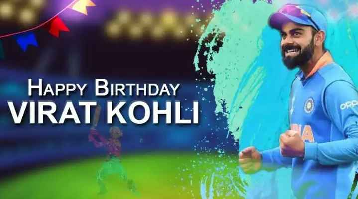 🏏 HBD: વિરાટ કોહલી - HAPPY BIRTHDAY VIRAT KOHLI - ShareChat