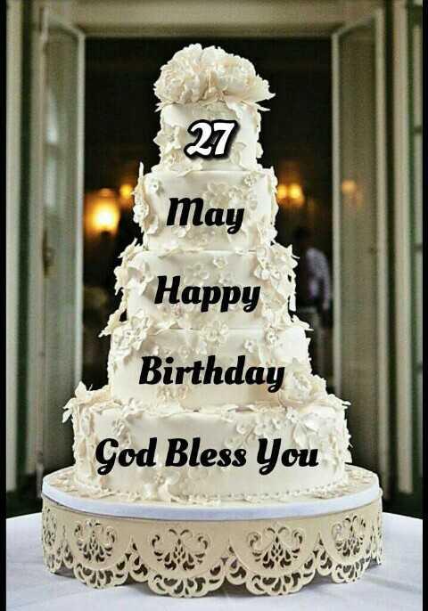 🎂 Happy Birthday AbRam 🎉🎈🍬 - 27 May Happy Birthday God Bless You surgery - ShareChat