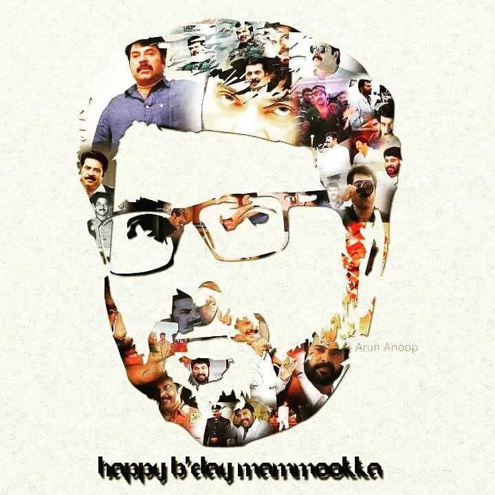 Happy Birthday Mammootty - Arun Anoop heppu b ' eley mermookka - ShareChat