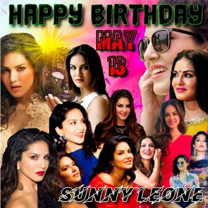 Happy Birthday Sunny Leone - HAPPY BIRTHDAY MAYO SUNNY LEONE - ShareChat