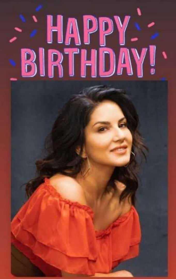 Happy Birthday Sunny Leone - · HAPPY BIRTHDAY ! - ShareChat