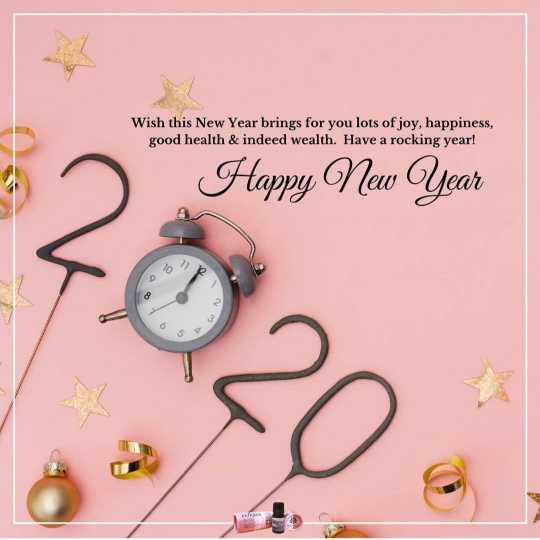 🎉 Happy New Year 2020 😍 - Wish this New Year brings for you lots of joy , happiness , good health & indeed wealth . Have a rocking year ! Happy New Year - ShareChat