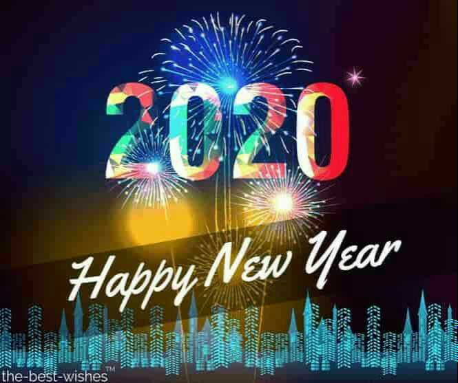 🎉Happy New Year - 2020 Happy New Year 02 the - best - wishes - ShareChat