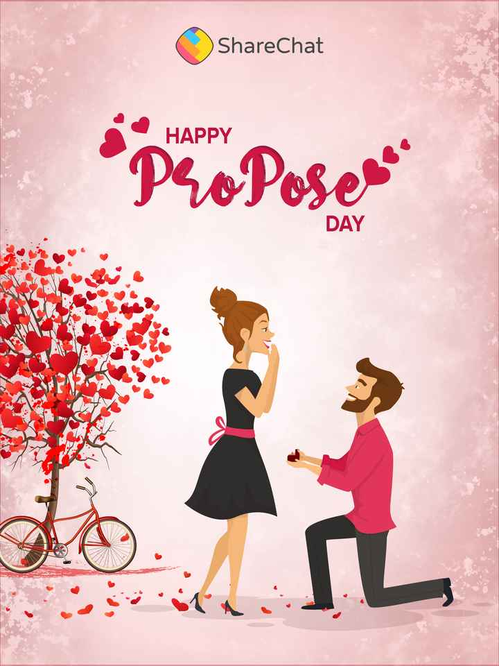 💍Happy Propose Day - ShareChat HAPPY Proposema DAY - ShareChat