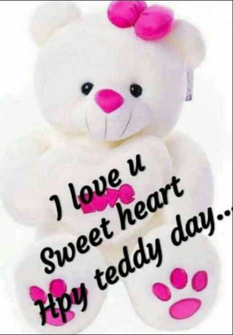 🧸Happy Teddy Day🧸 - I love u Sweet heart Hpy teddy day . . - ShareChat