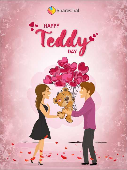 🧸Happy Teddy Day🧸 - ShareChat HAPPY * Teddy DAY - ShareChat