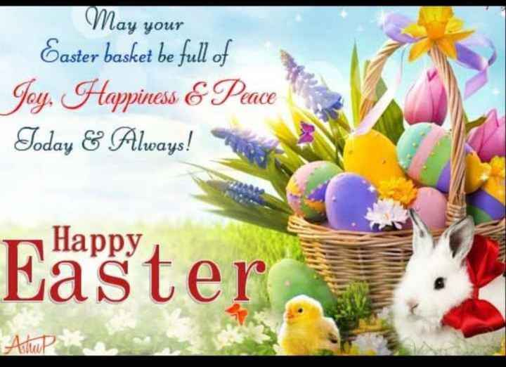 🥚Happy easter - May your Easter basket be full of Joy , Happiness & Peace Today & Always ! Happy Anu - ShareChat