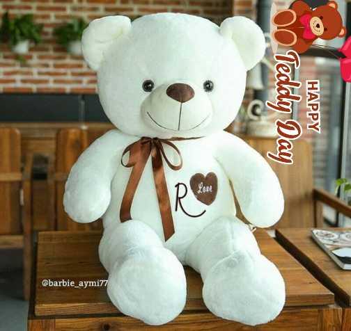 Happy teddy day - O Teddy Day HAPPY @ barbie _ aymi77 - ShareChat