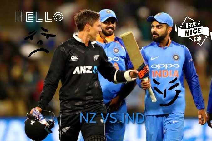 🏏 IND 🇮🇳 vs NZ 🇳🇿 वार्मअप मैच - IHELLC 1 . Have a NICE day will OS ANZ oppo INDIA NZ VSINDI - ShareChat