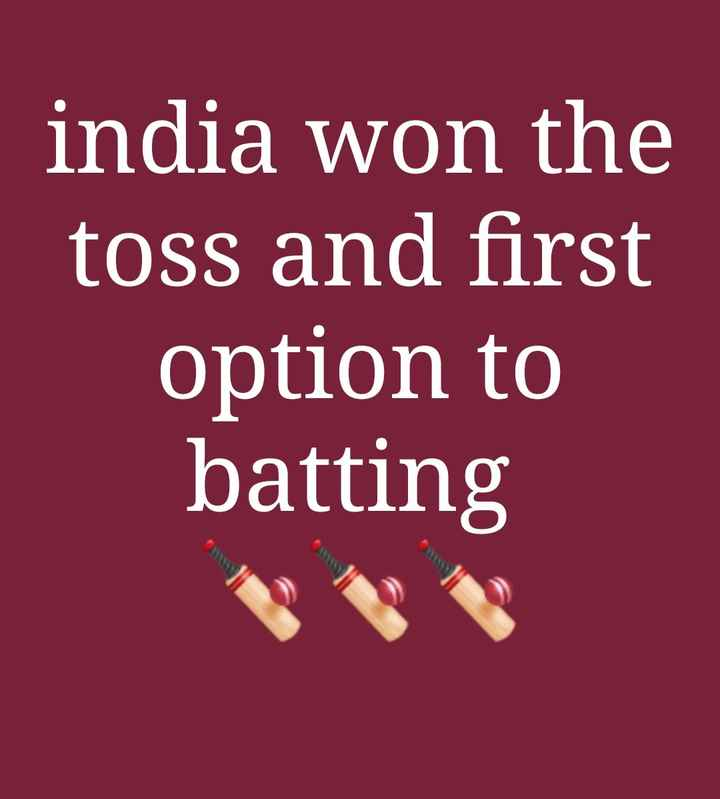🏏 IND 🇮🇳 vs NZ 🇳🇿 वार्मअप मैच - india won the toss and first option to batting - ShareChat