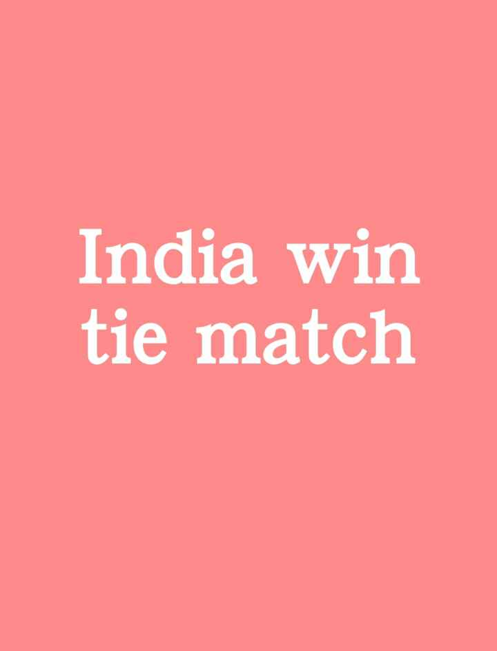 🏏 IND vs NZ: 3rd T20I લાઈવ - India win tie match - ShareChat