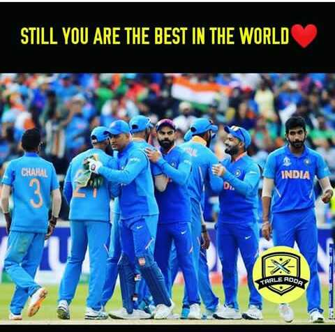 🏏 IND vs NZ - STILL YOU ARE THE BEST IN THE WORLD CHAJUAL INDIA STARLE RODA - ShareChat
