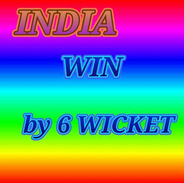 🏆 IND 🇮🇳 vs RSA 🇿🇦 - INDIA WIN by 6 WICKET - ShareChat
