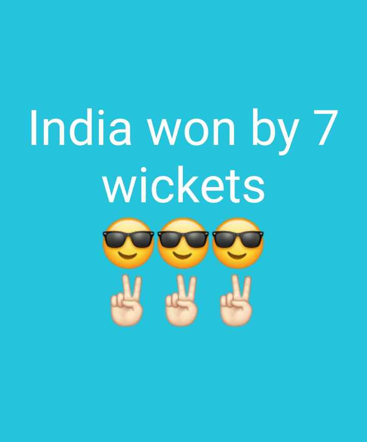 🏏IND vs WI T20 - India won by 7 wickets - ShareChat