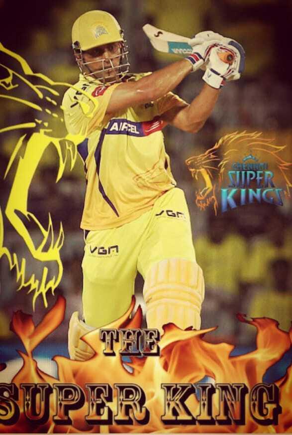 IPL വാർത്തകൾ - A FEL SUPER KINGES VGN SUPER KING - ShareChat