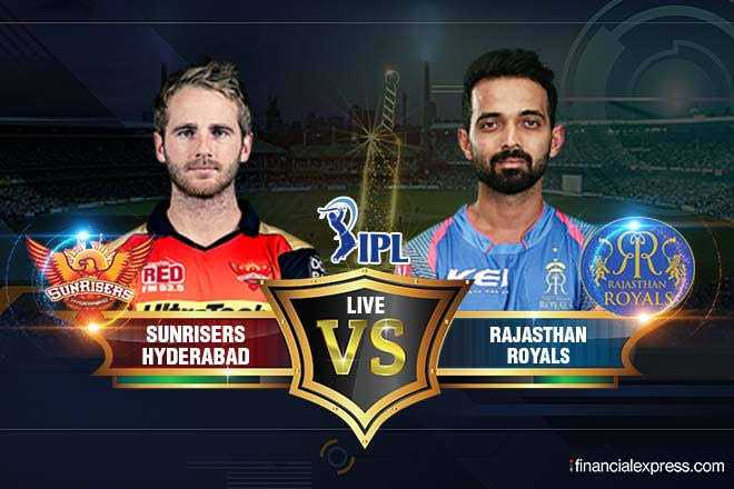 🏏 IPL-2019 - XIPLA RED SUNRISERA TWO LIVE ROYALS SUNRISERS HYDERABAD SUNRISERS VS RAJASTHAN ROYALS financialexpress . com - ShareChat