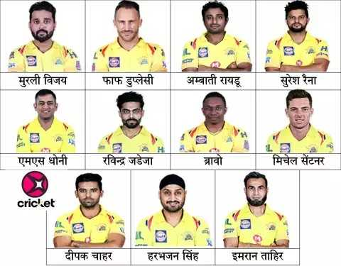 🏆 IPL Final: MI 🔵 vs CSK 🌕 - मुरली विजय । फाफ डुप्लेसी । अम्बाती रायडू | सुरेश रैना । एमएस धोनी | रविन्द्र जडेजा मिचेल सेंटनर । cricket दीपक चाहर । हरभजन सिंह | इमरान ताहिर - ShareChat