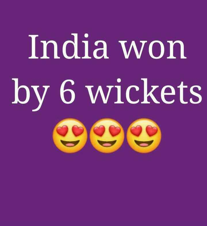 🏏India vs South Africa🏏 - India won by 6 wickets - ShareChat