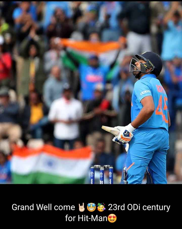 🏏India vs South Africa🏏 - OPO LANTE els Grand Well come le 23rd ODI century for Hit - Man - ShareChat
