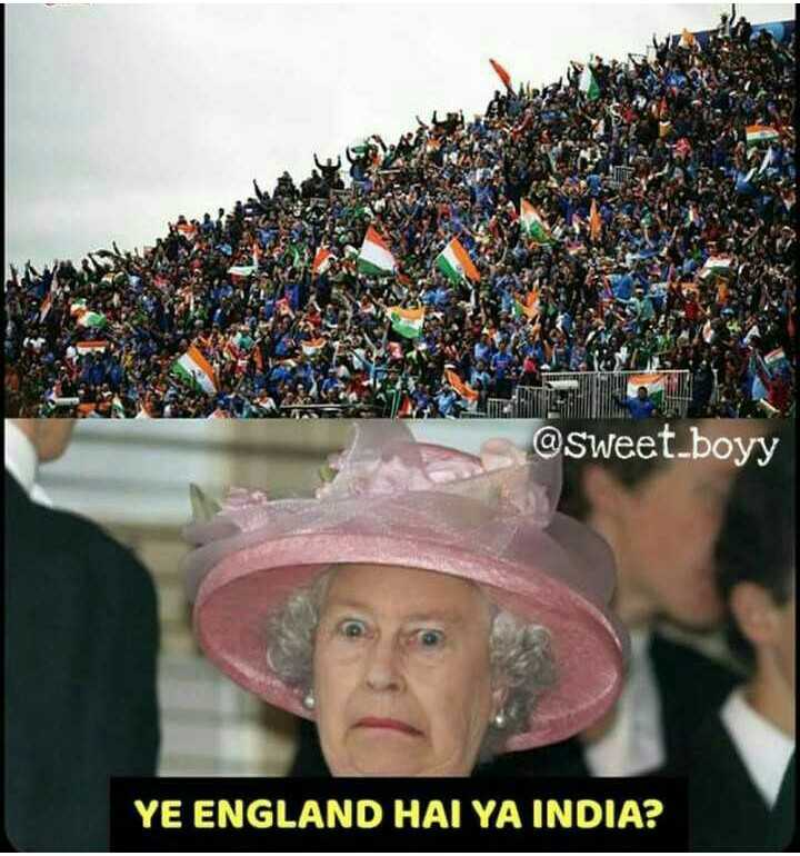 🏏India vs West Indies 🏏 - @ sweet _ boyy YE ENGLAND HAI YA INDIA ? - ShareChat